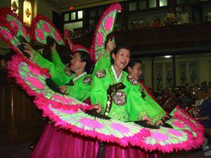 Korea Fan Dance